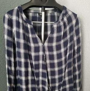 Casual Square Pattern Shirt⚘L⚘Never Worn